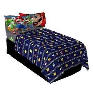 🚚 (Pre-Order) Nintendo Super Mario Trifecta Fun Single Sheet Set