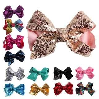 Sequin Bow baby