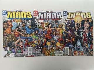 Titans (1999 1st Series) Who's Troia? Comics Set