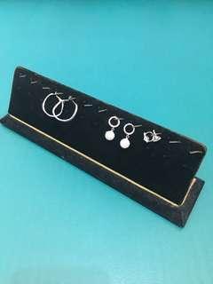 🚚 珠寶首飾耳環展示架收納價