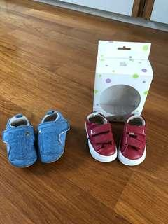 🚚 Tip Toey Joey, H&M baby boy shoes
