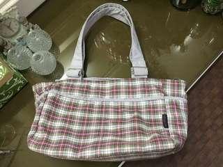 HeartString Checkered Bag