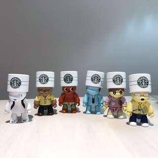 星巴克 Starbucks 第一代星偶像 鑰匙圈