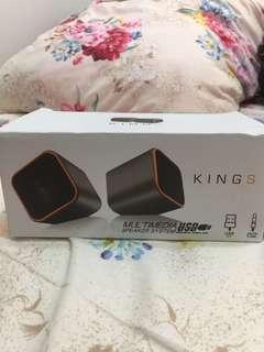 Kings Multimedia Speaker System