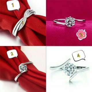 promosi cincin wanita untuk hari ini harga cincin 170rb