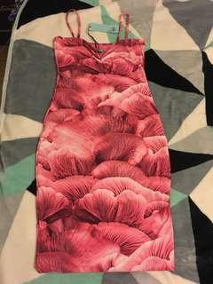 Bnwt Kookai floral Rosetta midi dress size 2