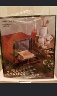 recolte solo oven Avance 全新未拆包裝袋焗爐