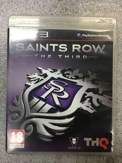 PS3 game Saints Row The Third