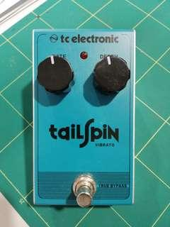 Tailspin vibrato tc electronic