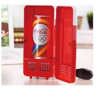 🚚 USB 迷你 冷熱 兩用 小冰箱