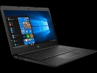 Kredit Laptop HP CK0006TX i3 7020/4GB/HDD 1TB