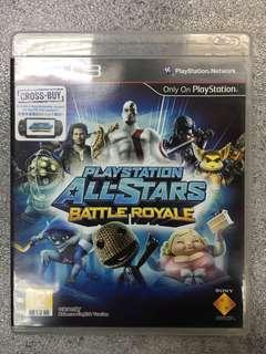 PS3 game Playstation All Stars Battle Royale