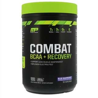 Brand new & unopened MusclePharm  Combat BCAA + Recovery, Blue Raspberry, 16.9 oz (480 g)