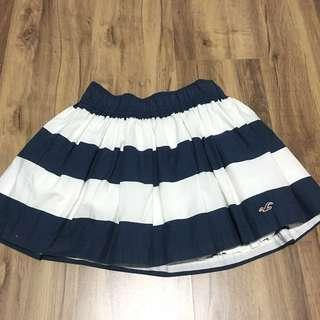 Hollister Striped Mini Skirt