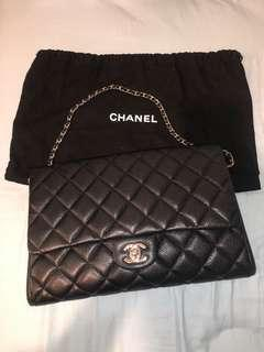 Chanel Timeless Clutch Bag with Chain