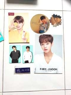 Wanna one official merch