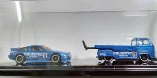 Hotwheels transporter custom
