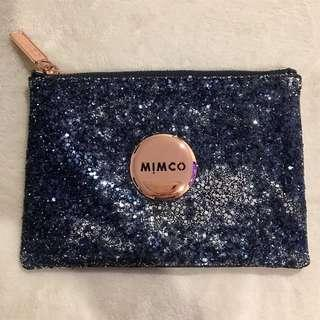 Mimco Navy Sparkle Clutch