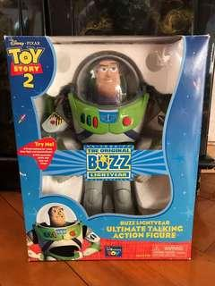 (可發聲)Vintage 1995 Toy Story 12'' Buzz Lightyear Ultimate Talking Action Figure