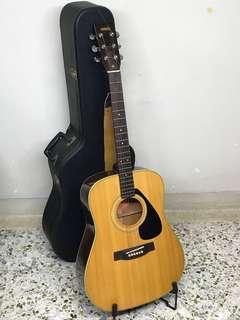 Rare ! YAMAHA Nippon Gakke Acoustic Guitar FG-151 (Made in Japan)