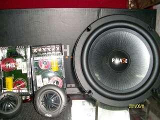 PHASE 高級6.5吋二音路分離式喇叭.知名品牌.音質超優