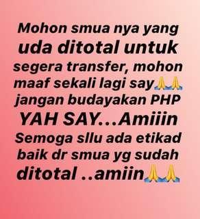 NO PHP.... NO DRAMA2.... NO HIT N RUN....UDAH FIX INI ITU MINTA NOREK TERUS NGILANG.
