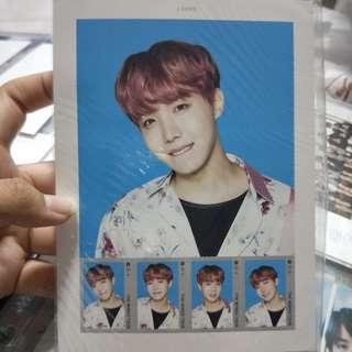 [wts] bts jhope wings tour stamp set