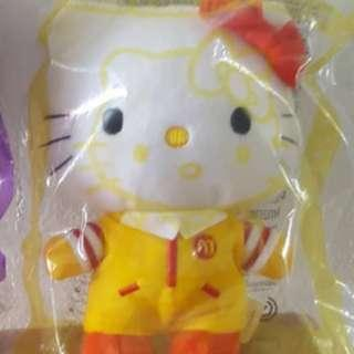 Brand new Hello Kitty doll (Orange & Yellow Design)