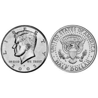 🚚 Real Coin - US half dollars