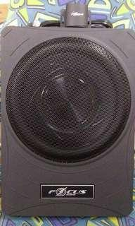 Audio focus 10吋椅下超薄主動式超低音箱