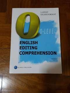 🚚 O-LEVEL ENGLISH EDITING COMPREHENSION