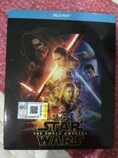Bluray movie : Star wars : the force awaken