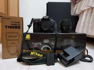 Nikon D7200 FREE YongNuo 50mm F1.8 + NEW YongNuo YN685 Speedlite