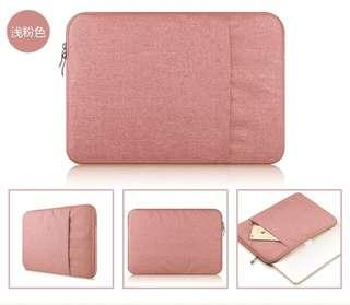 🚚 pink laptop case/bag