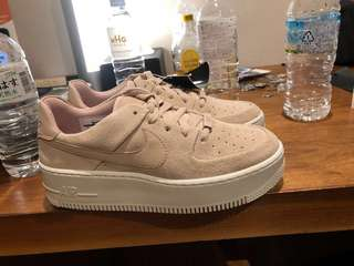04f4a345f27 NIKE AIR FORCE 1 Nude(US 7.5 women s)