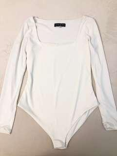 Olivia and Fifth white long sleeves top