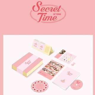 [No Film] IZ*ONE Photobook 'Secret Time'
