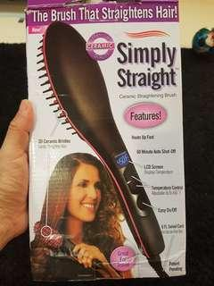 Simply Straight - The brush that straightens hair