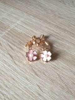 🚚 [NEW] Pink Cherry Blossom Earrings