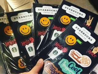 3 sets Starbucks Patches