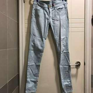 'Uniqlo' light blue jeans