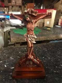 Crucifix with Carving