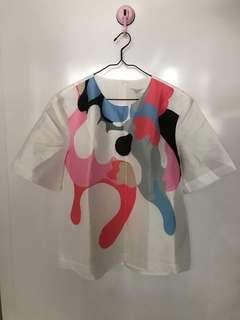 🚚 BNWT LILY Women Short Sleeve Printed Top