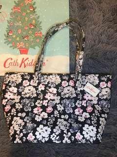 全新 Cath Kidston bag 大拉鍊袋 媽媽袋