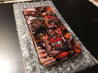 🚚 IPhone6/6s 手機殼 亮面 #熱火隊#詹姆斯#韋德#James#Wade#Heat#nba