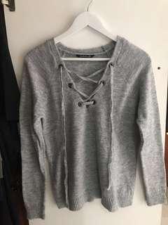 Stradivarius Knitted Sweatshirt