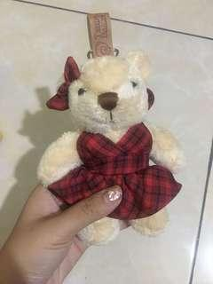 Gantungan kunci Teddy Bear