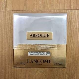 專櫃 現貨在台 絕對完美 黃金玫瑰洗顏皂 絕對完美香氛皂 絕對完美洗顏皂 100g 【LANCOME 蘭蔻】