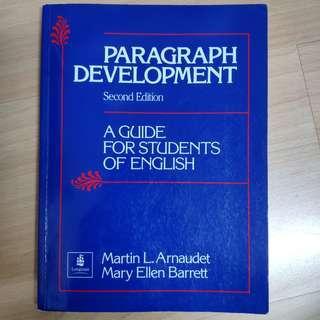 🚚 Paragraph Development (2nd edition)