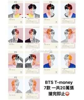 Bts T money card